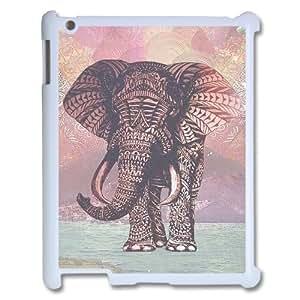 Elephant Unique Design Cover Case for Ipad2,3,4,custom case cover ygtg525746