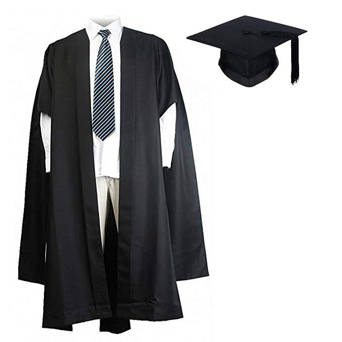 GraduationMall Adulti scAnalati Abito Master Laurea con Cappello accademico  Bachelor Mortarboard 79f93d378463