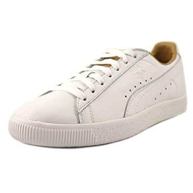 175ba35cd35 PUMA Women s Clyde Core Leather Sneakers