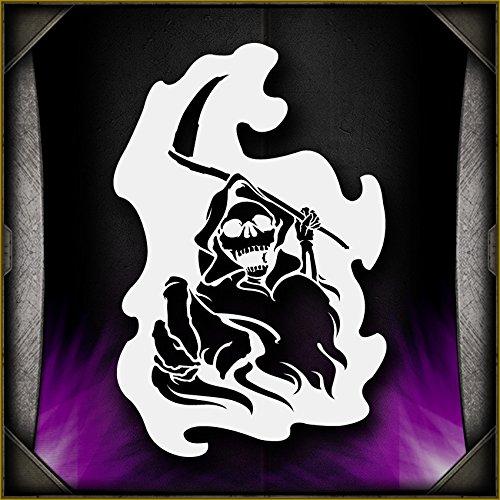 Grim Reaper 12 AirSick Airbrush Stencil (Grim Reaper Paper)