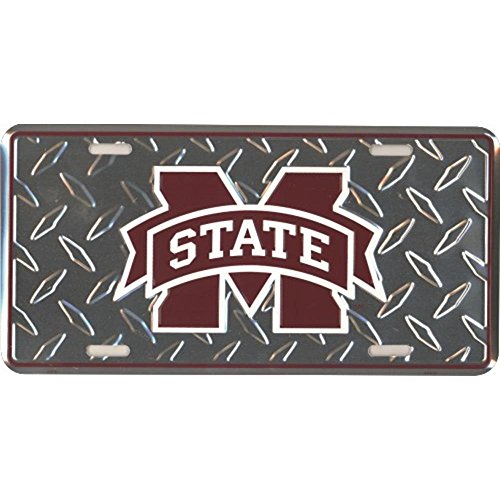 Signs 4 Fun SL2600 MS State Diamond License Plate