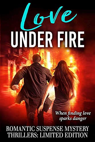 21 brand new, never-before published stories all in one amazing romantic suspense limited time boxed set: Love Under Fire by Wall Street Journal, USA Today and other bestselling authors**All profits go to Pets For Vets, a non-profit providing a second chance to shelter dogs and matching them with veterans who need a companion pet**