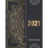 Reservation hostess Log Book For Restaurant 2020 2021 Reservations Appointment Book Daily Table Record And Schedule Tracker 365 Day Guest Booking Diary Mandala Cover