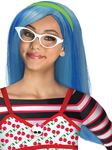 girls - kids-Monster High Ghoulia Yelps Child Wig Halloween Costume