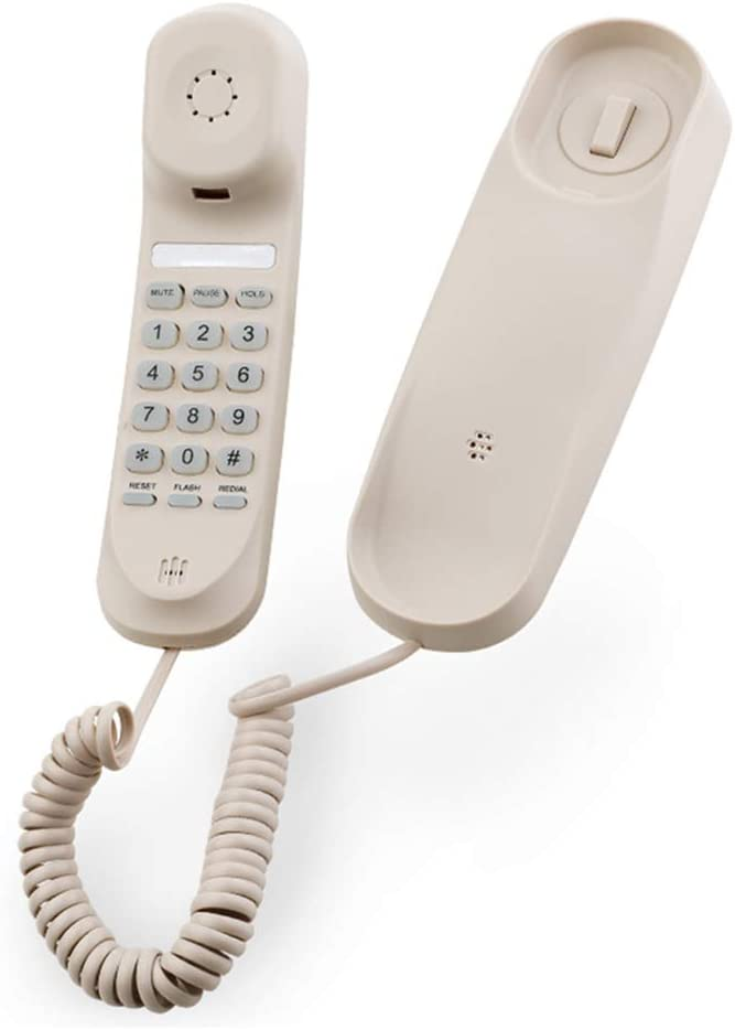 YXNZ Bocina de teléfono Fijo para Colgar en la Pared del baño o en la habitación del Hotel: Amazon.es: Oficina y papelería