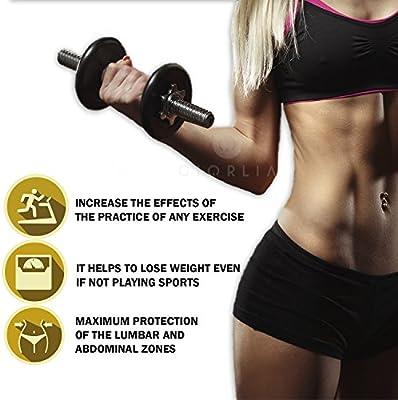 Faja cinturón para Adelgazar, Reductora de peso, Moldeadora para la cintura, Faja Abdominal ajustable de neopreno, Hombre y Mujer, Faja Reductora, Faja Adelgazante: Amazon.es: Deportes y aire libre