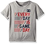 Under Armour, Inc. Is an American company that manufactures footwear, sports and casual apparel. Every day is game day short sleeve t-shirt.