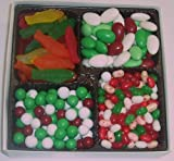 Scott's Cakes Large 4-Pack Christmas Mix Jelly Beans, Dutch Mints, Christmas Jordan Almonds, & Swedish Fish