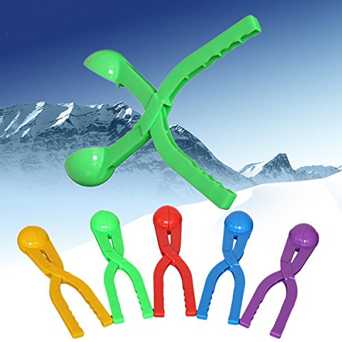 HOMEPRO Colorful Snowball clip Plastic Clip Snowball Fight Tool Device