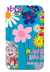 Yellowleaf Fashion Protective Custom Dora Birt Ay Invitation Ajilbab Portal Case Cover For Galaxy S3