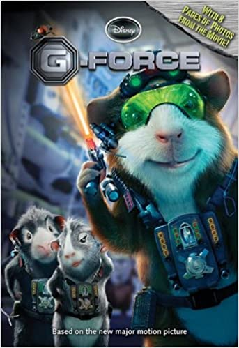 G Force The Junior Novelization Ponti James 9781423112877 Books Amazon Ca