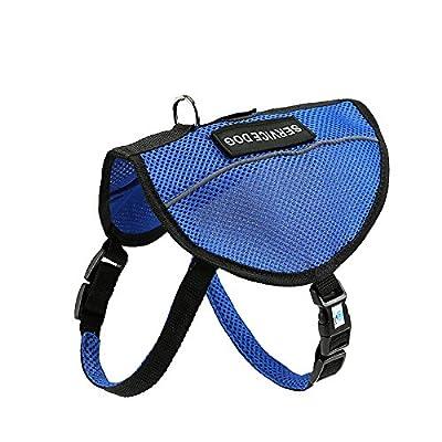 DEXDOG Service Dog Harness | Service Dog Harness with Adjustable Mesh Straps | Mobility Service Training Balance Supplies | Vest Affordable