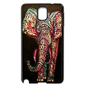 DIY Phone Case for Samsung Galaxy Note 3 N9000, Colored Elephant Cover Case - HL-697723