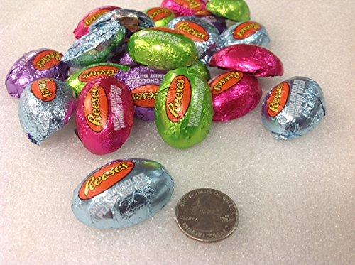 Milk Chocolate Reese's Peanut Butter Eggs 1 pound mini foil eggs