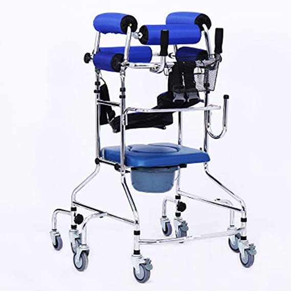 XJZHAN Andador médico Multifuncional Equipo de rehabilitación de ...
