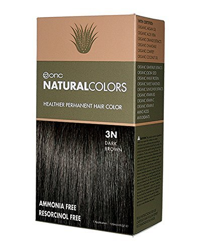 ONC NATURALCOLORS 3N Dark Brown Healthier Permanent Hair Color - 120 ml (4 fl. oz.) | Ammonia Free, Natural Hair Dye, No Parabens - Premium Salon Quality