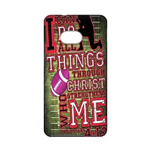 Top Sale Jesus Christ Cross Bible Quotes Hard Plastic Cover Case (HD Image) For HTC One M7-08