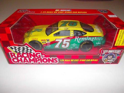 Rick Mast #75 Remington Igloo Green Yellow 1/24 Scale Racing Champions Diecast NASCAR 50th Anniversary