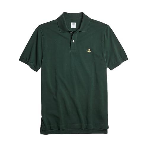 Brooks Brothers GF スーピマコットン ストレッチピケ パフォーマンス ポロシャツ Slim Fit
