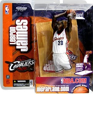 McFarlane Sportspicks: NBA Série 5> LeBron James Figurine