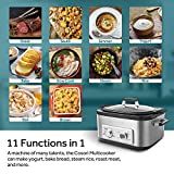 COSORI 6 Qt 11-in-1 Programmable Multi-Cooker Pot, Slow Cooker, Rice Cooker, Brown, Saute, Boil, Steamer, Yogurt Maker, Auto-Warmer, Delay Timer, 86°F-400°F, Stainless Steel, Cookbook, 2-Year Warranty