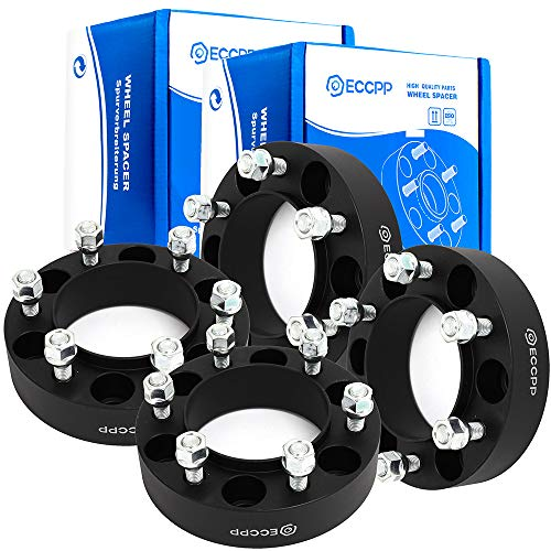 - ECCPP 6x5.5 Hubcentric Wheel Spacer Adapters 6 lug 4X 1.5