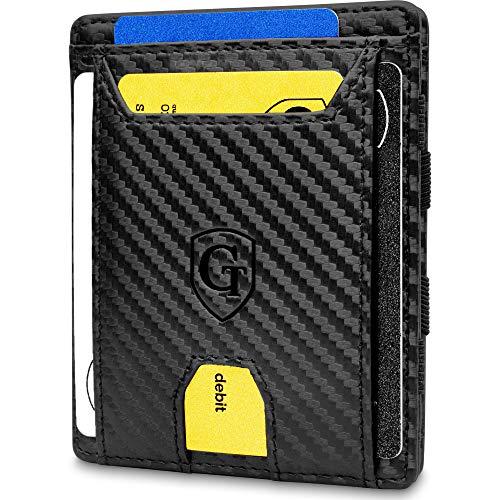 GenTo® FLAPLET II Magic Wallet – Protección RFID – Billetera mágica – Billetera mágica con un Gran Compartimento para…