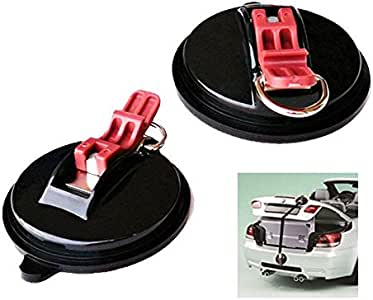 2PCS HEAVY DUTY TIE DOWN SUCTION CUP ANCHORS MOVING TRAVELLING HOLDS UP