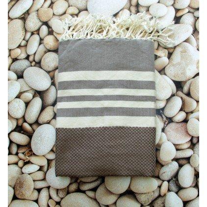 Dorset Marron - 100% algodón Fouta toalla de baño, 100cm x 200cm, probablemente