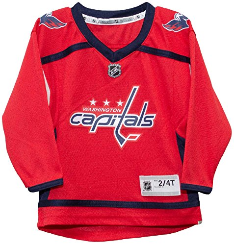 396d4f072 Outerstuff NHL NHL Washington Capitals Kids   Youth Boys Replica Jersey -Home.