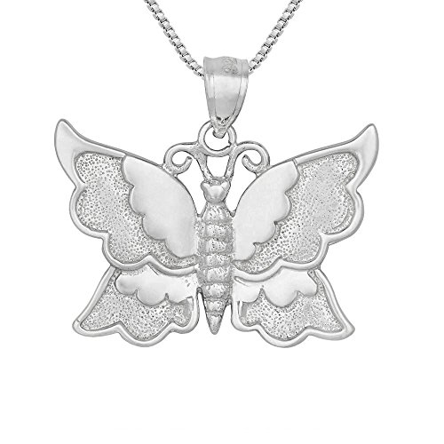 erfly Pendant / Charm, Made in USA, 18