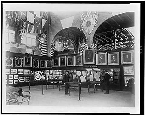 Photo: Department of Justice, Cotton States Exposition, Atlanta, Georgia, 1895, Exhibit . Size: (Georgia Justice)
