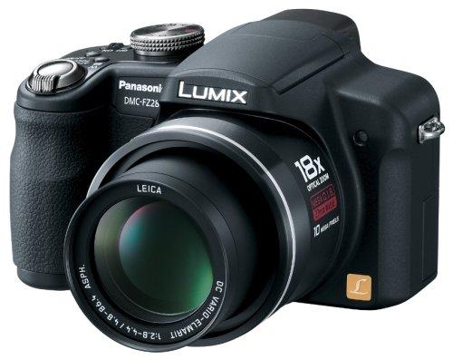 Panasonic デジタルカメラ LUMIX (ルミックス) FZ28 ブラック DMC-FZ28-K