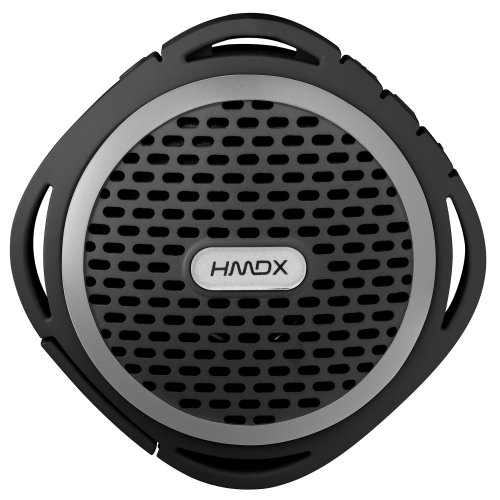 HMDX HX-P310BK HoMedics Flow Rugged Wireless Speaker (Black)