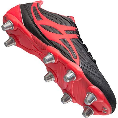 de Rugby V1 Black 8 SG Rouge Stud Red Crampons Sidestep nqO1aHFw