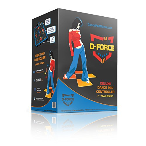 D-Force Deluxe Dance + Pump USB Dance Pad (Ddr Pad)