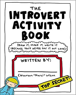 The Introvert Activity Book Draw It Make Write Because You