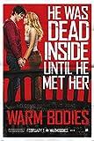"Warm Bodies Movie Poster - Dead Inside 24""x36"" Art Print Poster"