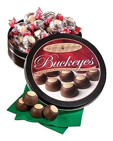 Milk Chocolate Peanut Butter Buckeyes - Harry London Truffles