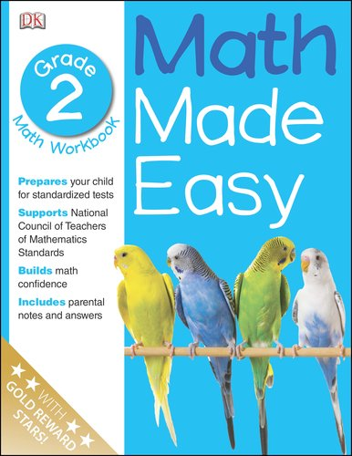 Math Made Easy: Second Grade Workbook (Math Made Easy), Books Central
