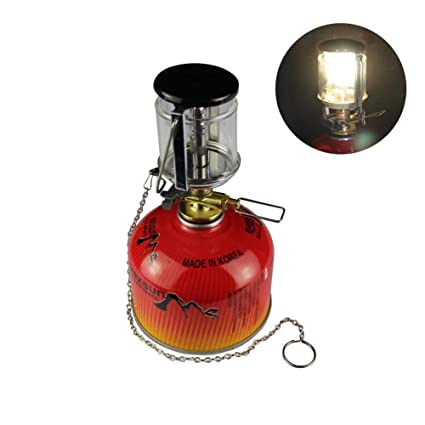 Campcookingsupplies United Outdoor Camping Portable Gas Heater Tent Mini Camping Lantern Gas Light Tent Lamp Torch Choice Materials Sports & Entertainment