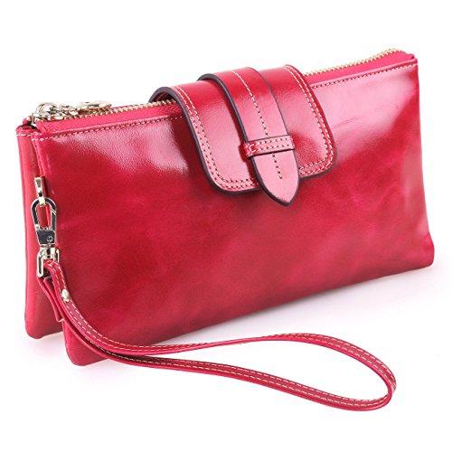 KorMei Pochettes femme Rose Rose femme Rouge Rouge Pochettes KorMei HEwnq7U