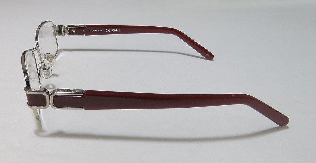 1f018a65de Amazon.com  Chloe 2111 For Ladies Women Designer Full-Rim Shape Modern  Beautiful Hot Made In Italy Eyeglasses Glasses (53-17-135