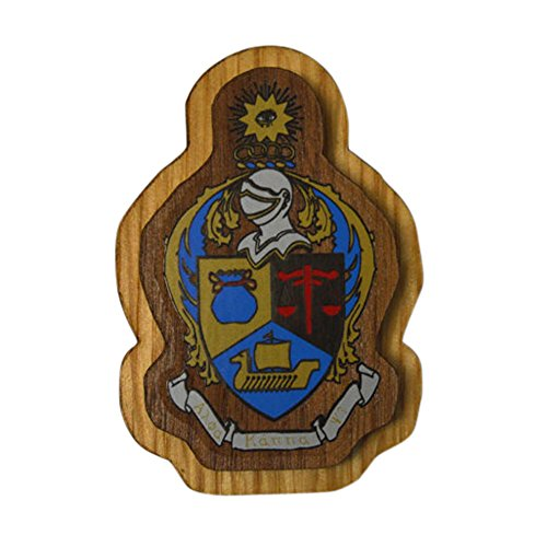 Alpha Kappa Psi Wood Crest Made of Wood for Paddle Mascot Board AKPsi (3.5
