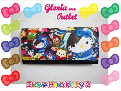 Hello Kitty Street Fighter Canvas Wallet Loungefly Sanrio SANWA0609 ()