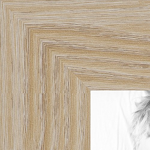 ArtToFrames 18x24 inch Natural Oak - Barnwood Picture Frame, (24 Natural Wood)
