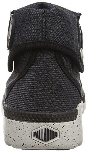 Palladium Palavil Bgy T W - Zapatillas de deporte Mujer Negro - Noir (B67 Black/Black/Wind Chime)