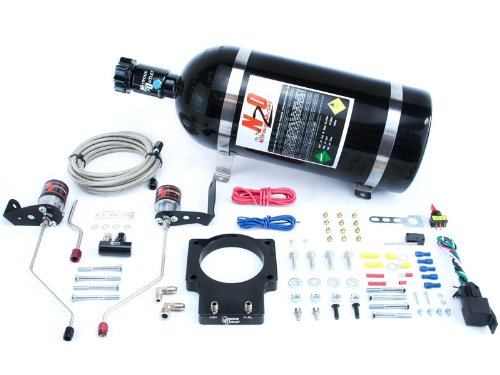 Nitrous Outlet 92mm Fast Intake 98-02 F-body Plate System (10lb Bottle) ()