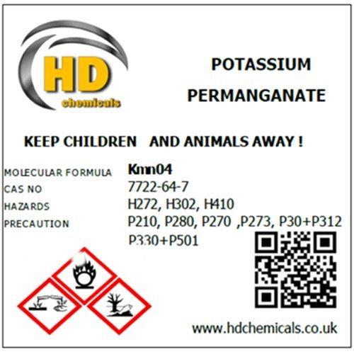 Potassium Permanganate Crystals 999 Pure High Grade 500g Kmno4