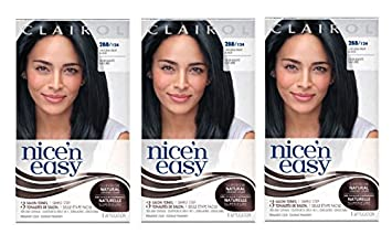 clairol nice n easy hair color 124 2bb natural blue black 1 kit - Clairol Nice And Easy Hair Color